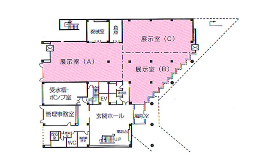 姫路市 勤労市民会館 1F