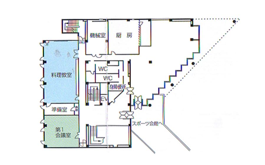 姫路市 勤労市民会館 2F
