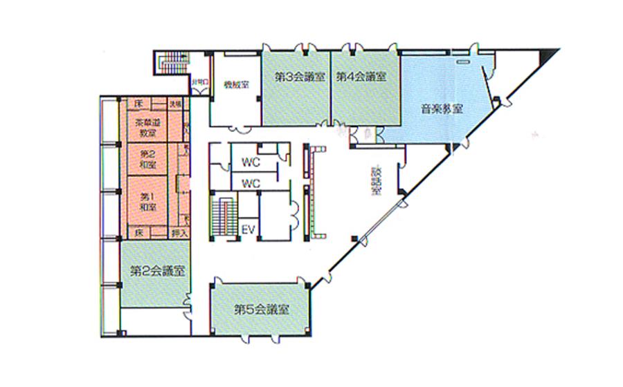 姫路市 勤労市民会館 3F