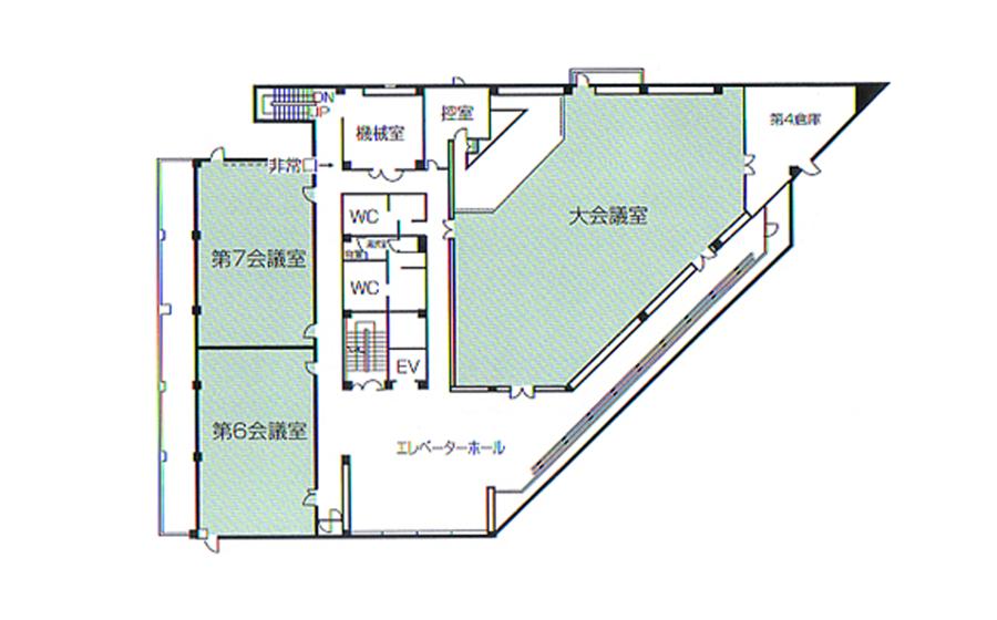 姫路市 勤労市民会館 4F