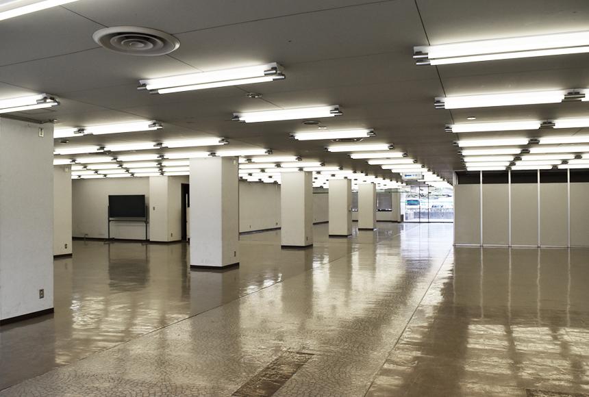 姫路市 勤労市民会館 : 展示室